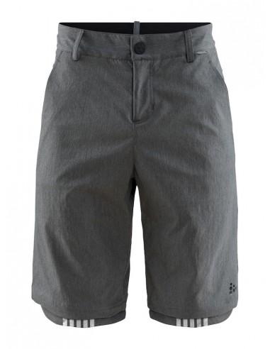Spodenki Męskie Craft Ride Habit Shorts Szare