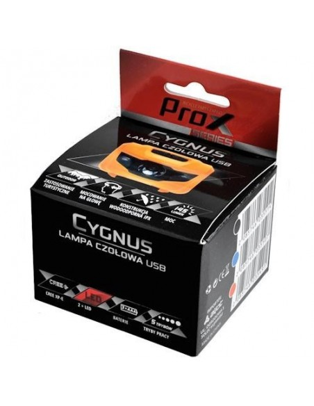 Czołówka Cygnus Prox czarna 145 Lm 3 LED