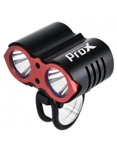 Czołówka/lampka rowerowa DUAL II  Prox czarna 1600 Lm
