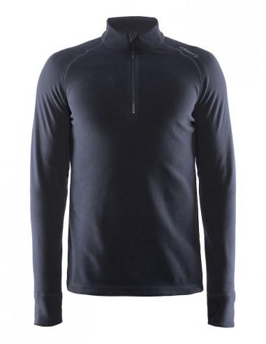 Bluza męska Craft Fleece Zip Micro Granatowa