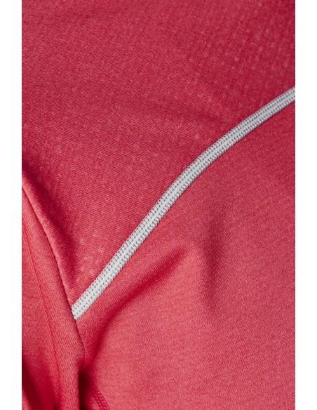 Bluza damska Craft Run Mind LS Hood Różowa