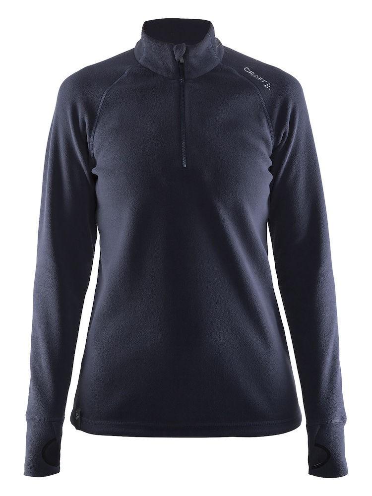 Bluza damska Craft Fleece Half Zip Micro Granatowa S