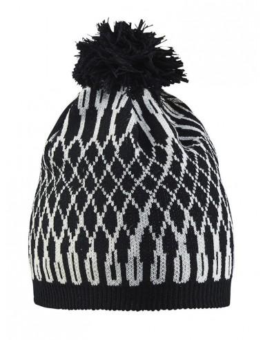 Czapka damska Craft Snowflake Hat Czarna