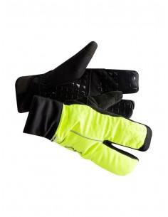 Rękawiczki Craft Siberian 2.0 Split Finger Czarno-Zielone