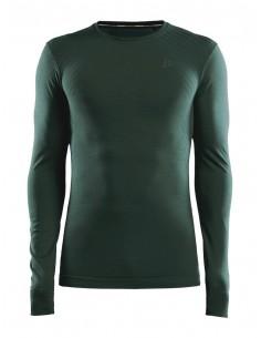 Koszulka męska Craft Fuseknit Comfort RN LS Zielona