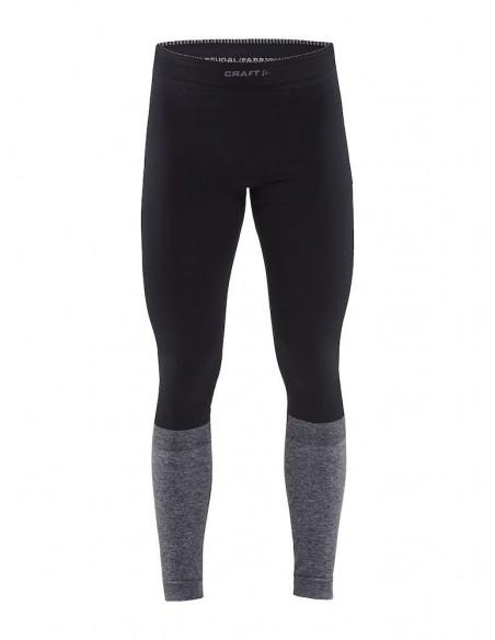 Spodnie męskie Craft Warm Intensity Czarno-Szare