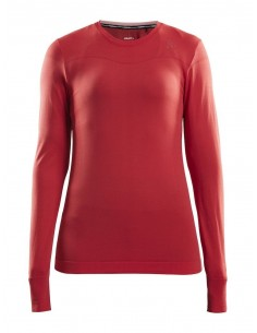 Koszulka damska Craft Fuseknit RN LS Czerwona