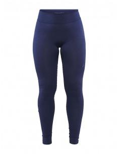 Legginsy termoaktywne damskie Craft Fuseknit Comfort Pants, granatowe