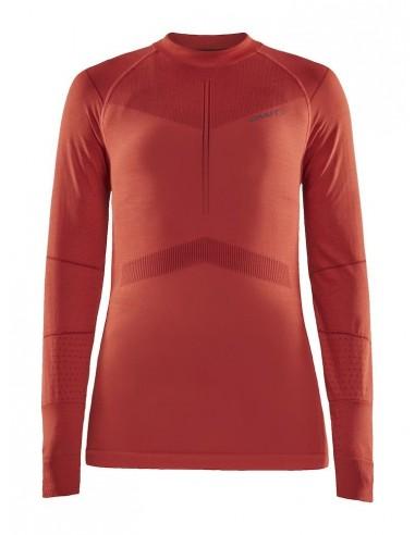 Koszulka damska Craft Active Intensity LS Czerwona