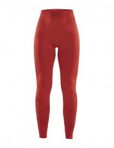 Legginsy termoaktywne damskie Craft Active Intensity Czerwone