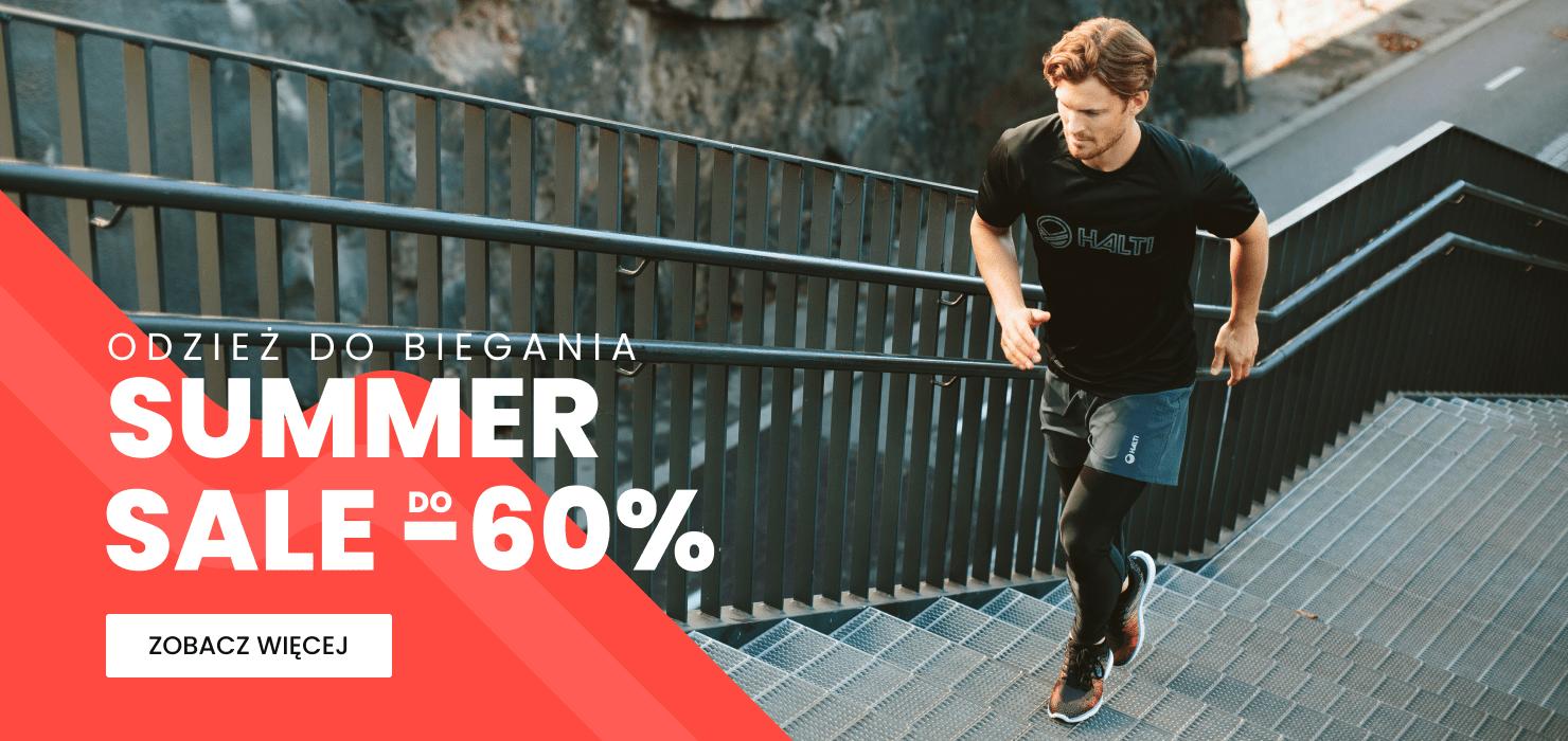 Summer Sale do -60% - odzież do biegania