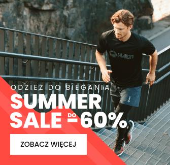Summerr Sale do -60% - odzież do biegania