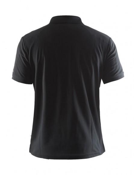 Męska koszulka CRAFT Polo Shirt Pique Classic czarna